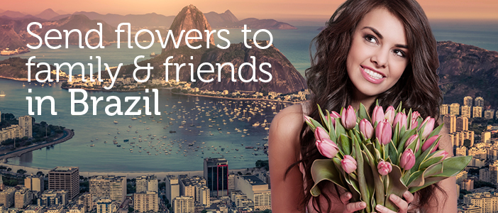 Flower Delivery Brazil via Local Florists