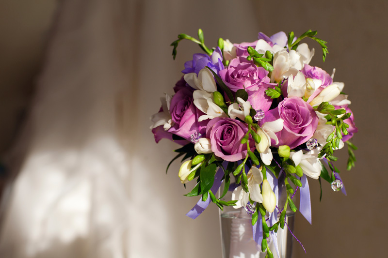 Wedding Flowers by The Blossom Shop in Woodford Halse